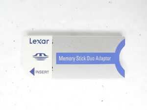 Lexar Genuine MSDAD Camera Memory Stick Duo Adapter