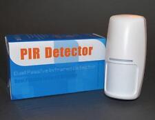 2 X sensores de movimiento inalámbrico PIR con antenas internas, 433 MHz, 9 V. Stock Reino Unido