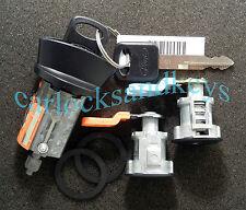 1997-2007 Ford Ranger Ignition Lock and 2 Black Door Locks (Locks Keyed Alike)