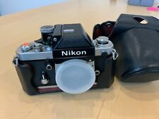 Excellent Nikon F2A Film Camera Body Dp11 Photomic + Case
