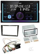 JVC AUX 2DIN USB MP3 Bluetooth Autoradio für Opel Astra H Corsa D Zafira B Klavi