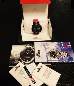 TISSOT Model T-RACE PVD CHRONOGRAPH WATCH, BLACK / RED , Series T048417A T048