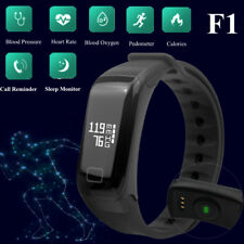 Smart Heart Rate Bracelet Sports Fitness Tracker Waterproof Android IOS Watch