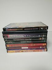 Lot Of 8 Anime Dvds Riddick Dark Fury Spirited Away Tenehi Naruto YuGiOh