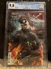 Dark Nights Death Metal Robin King #1 Roberts Var. CGC 9.8 + DNDM #6 1:25 RAW