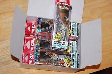 """dealer box 6 lures yo zuri shrimp crystal jerkbait f987-hts 2 3/4"""" 1/4oz tiger"""