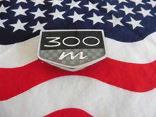 US CHRYSLER 300 m Car AUTO EMBLEM Badge Deko Logo Type Typ Deco Modell Model USA