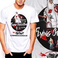 c2faf3dea22d Kung Fu Martial Arts Shaolin Wutang Buddha Samurai Akira UFC Jiu Jitsu T- Shirt