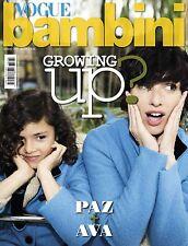 VOGUE Bambini Magazine ITALIA ITALY JULY 2017 NEW