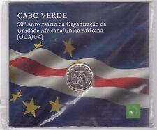 CAPE CABO VERDE - BIMETAL 250 ESCUDOS UNC COIN 2013 YEAR 50th ANNI IN BLISTER