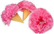 Amscan Decorazione a forma di Soffice Cono gelato 30 cm colore Rosa