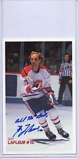 GUY LAFLEUR # 10 AUTOGRAPHED MOLSON EXPORT ALE MONTREAL CANADIANS  ALL THE BEST