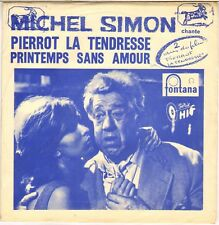 "MICHEL SIMON ""PIERROT LA TENDRESSE"" 50'S SP FONTANA 261.186"
