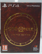 GOD OF WAR LIMITED EDITION - PS4 - PAL ITA NUOVO SIGILLATO PS4 NEW SEALED