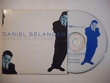 DANIEL BELANGER : JE FAIS DE MOI, UN HOMME ♦ CD SINGLE PORT GRATUIT ♦