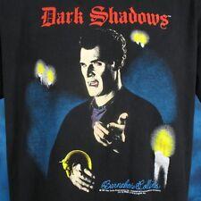 vintage 90s DARK SHADOWS VAMPIRE TV SHOW T-Shirt LARGE gothic soap opera dracula