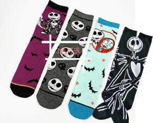 The Nightmare Before Christmas Jack 3D Socks men women Cosplay Long warm Socking