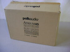BRAND NEW Polk Audio Atrium 4 Outdoor All-Weather Speakers (Pair, Black) NEW