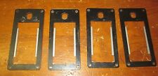 BENCHMARK CLAIM JUMPER REDEMPTION GAME LOT OF 4 LOCK / COIN ENTRY MOUNT PLATES