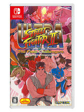 ULTRA STREET FIGHTER II THE FINAL CHALLENGERS Nintendo Switch Japanese Chinese
