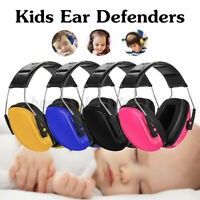 Kids Child Baby Earmuffs Hearing Protection Ear Defenders Noise Reduction