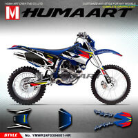 MX Graphics Custom Sticker Kit for Yamaha WR250F WR 450F WRF 250 450 2003 2004