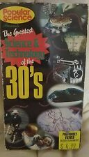 Popular Science The Greatest Science and Technology of The 30s VHS