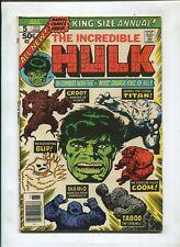THE INCREDIBLE HULK #5 (7.5) 2ND APPEARANCE OF GROOT!