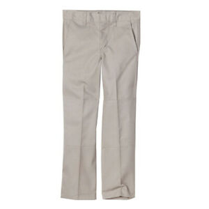 Dickies Boys Pants 85562 Double Knee Extra Pocket Silver Sizes 8 to 20