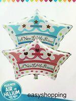 A NEW LITTLE PRINCIPE neonato, Happy Birthday Palloncino Grande Palloncini Elio