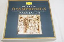 ANTON BRUCKNER EUGEN JOCHUM 9 SYMPHONIES 10 LP VINYLE DEUTSCHE GRAMMOPHON