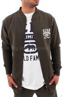 Ecko Mens Boys Summer Bomber Style Zip Up Jacket Star Hip Hop G College Daytona