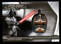 Darth Vader 2019 Topps Star Wars Masterwork Artifact Medallion Sith Chalice