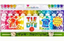 Create Basics Kit Tie Dye 47 PC Kit, 10 Colors! NEW
