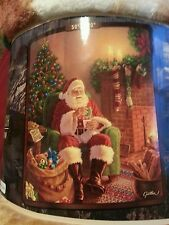 Santa Clause Royal Plush Raschel Throw