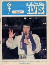 Elvis Presley Fan Club Magazine Jun/July 1981