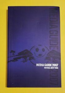 2007 New York Red Bulls official media guide mint cond. Metrostars MLS Soccer