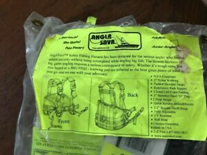 ANGLR SAVR OFFSHORE SAFETY FISHING HARNESS NEW