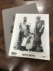 1990s Geto Boys Rapper Rap-a-Lot Records Hip Hop Music Press Photo w/Folder