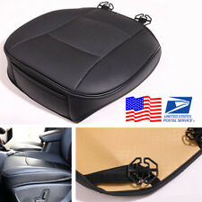 Car Wearproof PU Leather Seat Cover Cushion Protect Pad with Bottom Storage Bag