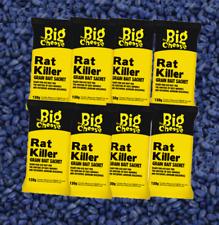 Mouse Rat Rodent Poison Mice Killer Poison Sachets Grain Bait + Pro Guide Poison