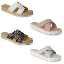 Dunlop Flat (0 to 1/2 in) Flip Flops for Women