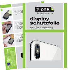 6x Apple iPhone XS Kamera Schutzfolie matt Displayschutzfolie Folie Display