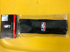VINTAGE REEBOK AUTHENTIC OFFICIAL N.B.A. LOGO BLACK HEADBAND NEW IN PACKAGE