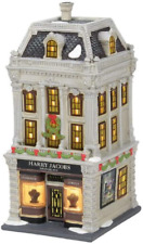 """Department 56 """"Christmas"""" in the City Harry Jacobs Jewelers Lit House, 9.06-inch"""