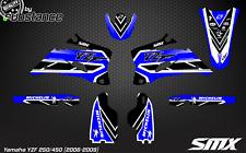 YZF 250 450 MX SMX motocross graphics decals kit YZ450F stickers 2006 2007 2008