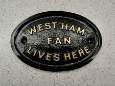 WESTHAM  - HOUSE DOOR PLAQUE SIGN GATE WALL BOROUGH