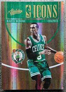 RAJON RONDO 2010-11 Absolute Icons #11 #ED 059/100 Los Angeles Clippers MINT