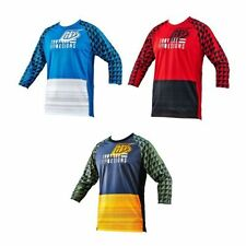 Polyester 3/4 Sleeve Cycling Jerseys
