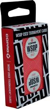 2017 Red Authentic Deck Dealt at WSOP Used Copag Poker Plastic Playing Cards *